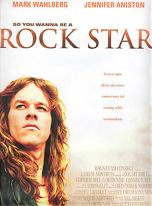Rock Star poster, August 14, 2000